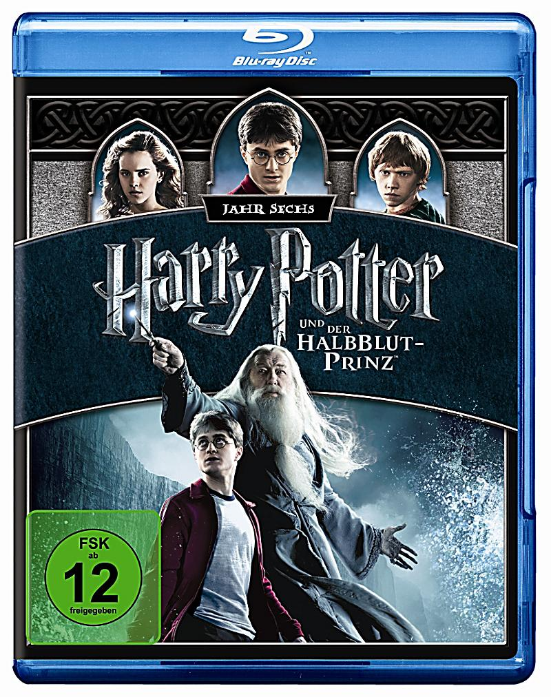 harry potter und der halbblutprinz blu ray bei. Black Bedroom Furniture Sets. Home Design Ideas