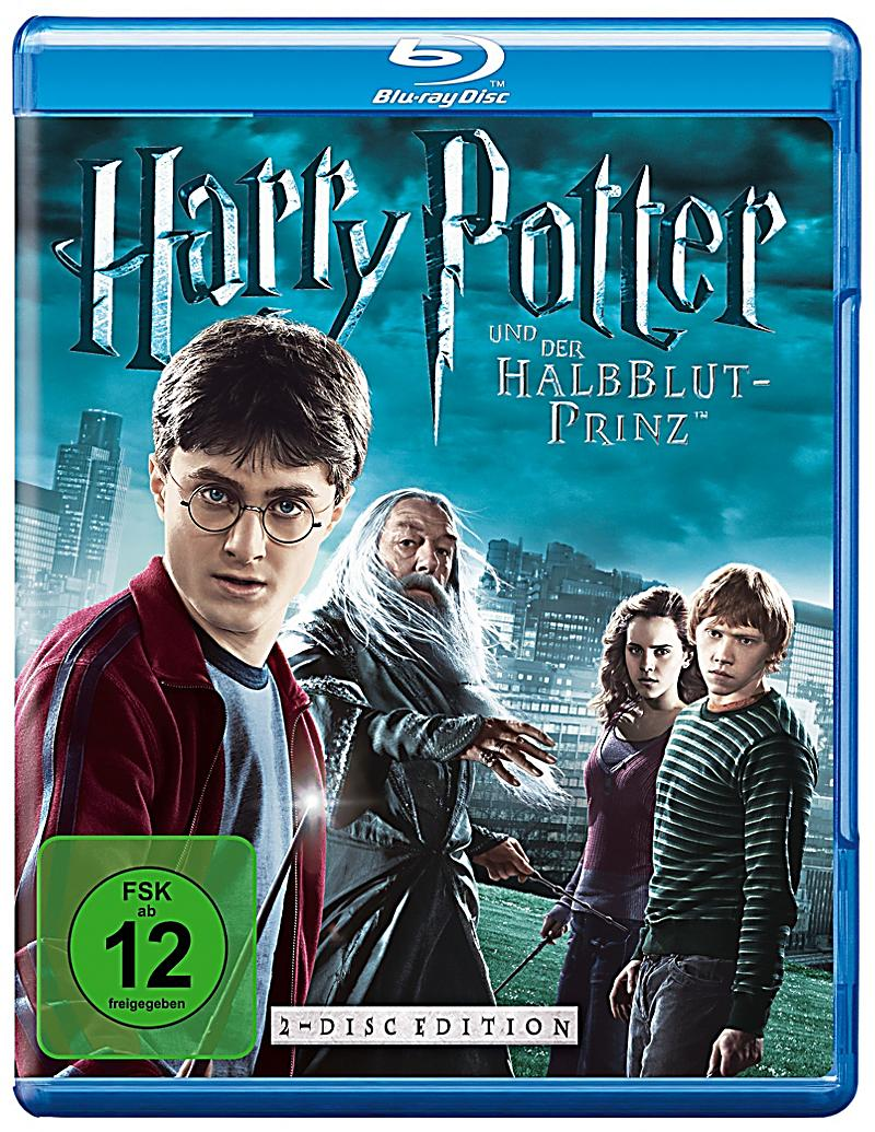 harry potter und der halbblutprinz teil 6 blu ray. Black Bedroom Furniture Sets. Home Design Ideas