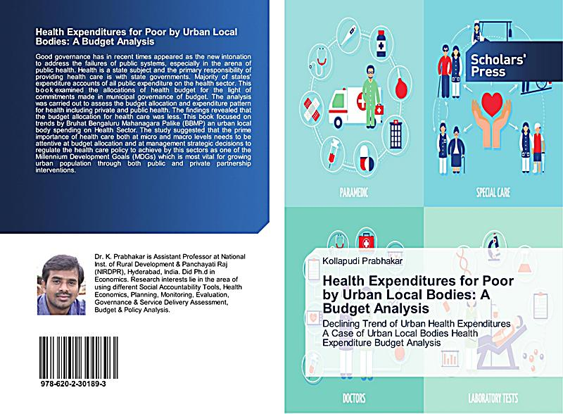 health expenditures Reviews of public expenditures and budgets in kenya show that total health spending constitutes about eight percent of the total government expenditure and that recurrent expenditures have been consistently higher than the development expenditures, both in absolute terms, and as a percentage of the gdp.