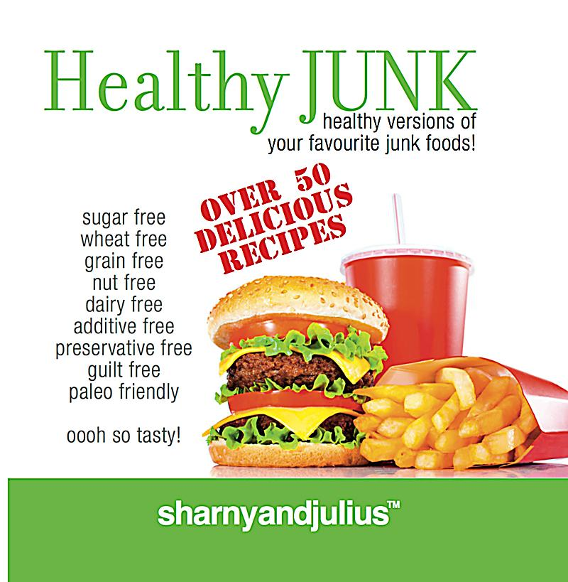 Recipes For Healthy Versions Of Junk Food