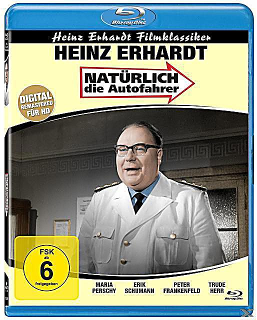 heinz erhardt nat rlich die autofahrer blu ray. Black Bedroom Furniture Sets. Home Design Ideas