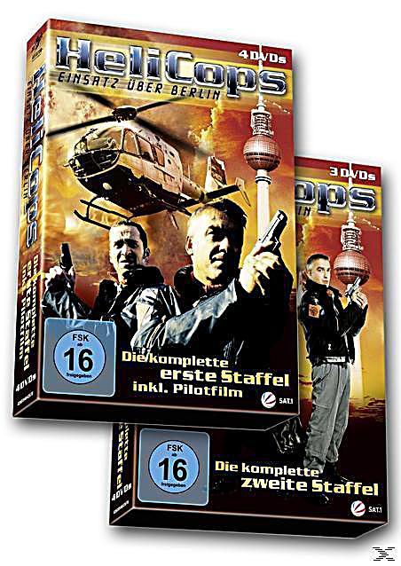 Helicops Einsatz über Berlin