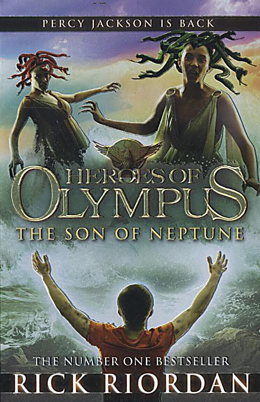 The Son of Neptune (Heroes of Olympus, Book 2)-ExLibrary