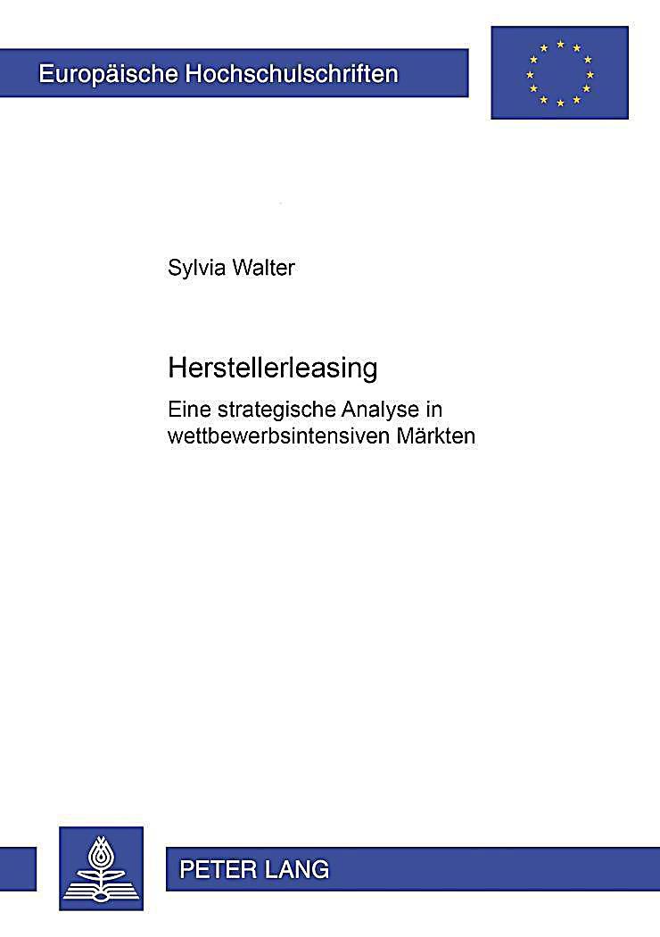 Herstellerleasing Buch von Sylvia Walter portofrei - Weltbild.ch