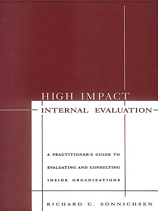 evaluate the impact of internal and The following checklist is provided to facilitate a self-assessment of internal   the effect of performance evaluations on compensation decisions is defined and .