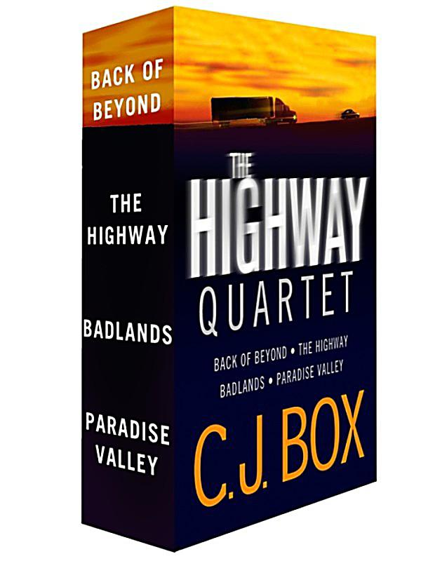 Highway Quartet: Paradise Valley by C. J. Box (2017, Hardcover) 1st ed. likenew