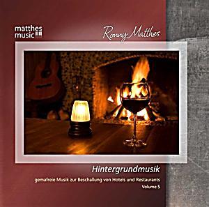 hintergrundmusik vol 5 gemafreie musik zur beschallung. Black Bedroom Furniture Sets. Home Design Ideas