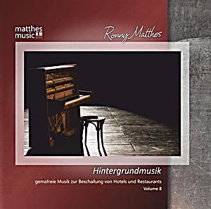 hintergrundmusik vol 8 gemafreie musik zur beschallung. Black Bedroom Furniture Sets. Home Design Ideas