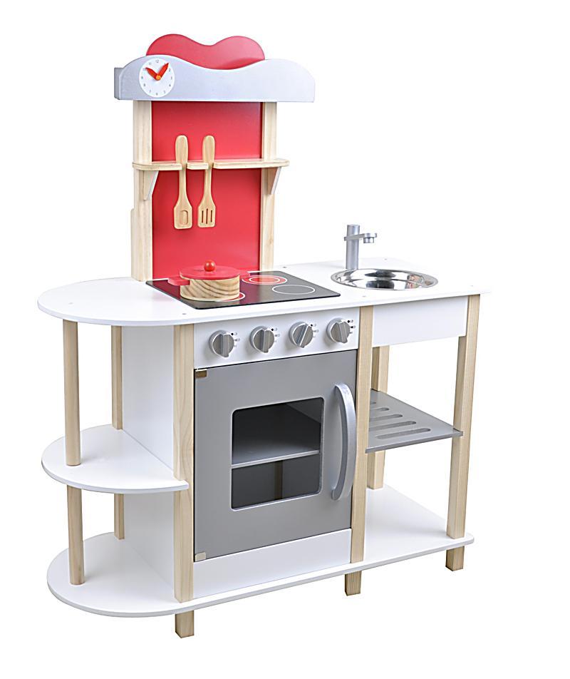 Holzküche holzküche weiss natur h 105cm gh exkl bestellen weltbild de