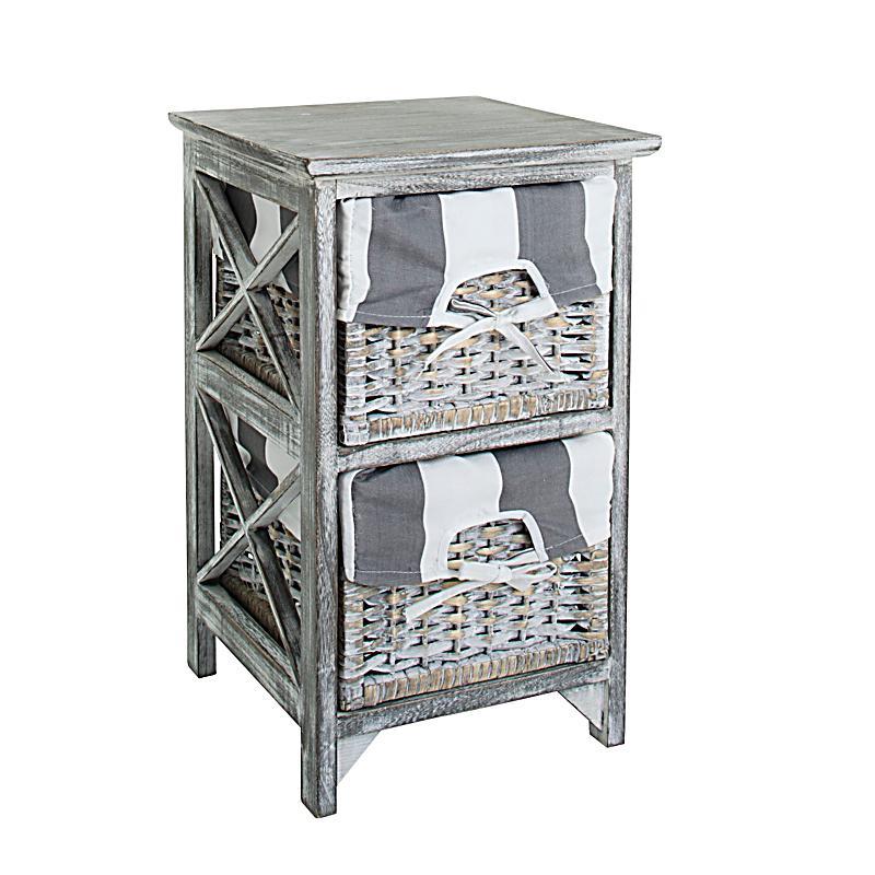 holzregal 39 madera 39 mit 2 k rbe jetzt bei bestellen. Black Bedroom Furniture Sets. Home Design Ideas