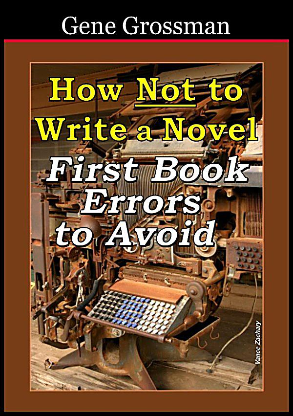 errors to avoid when writing about a book