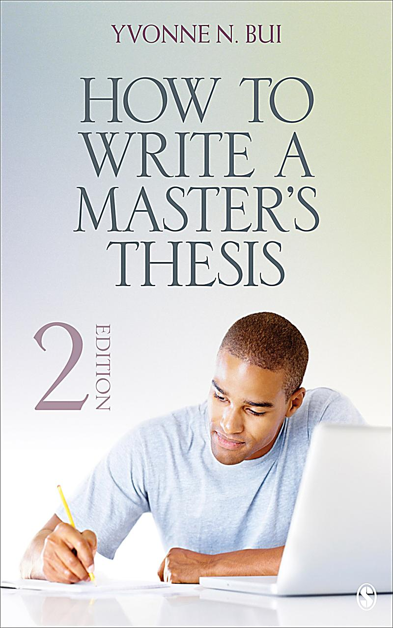 how write master thesis I have supervised more than 30 thesis projects in computer science in this presentation, i outline best practices on how to write a great master's thesis.