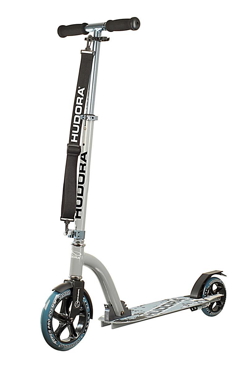 hudora scooter bold wheel 205 grau blau bestellen. Black Bedroom Furniture Sets. Home Design Ideas