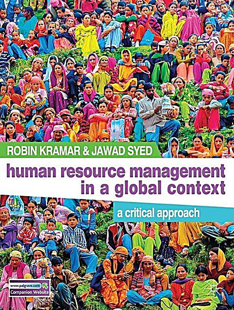 human resource management in the context Human resource management (ma) this program offers students a practical study of human resource competencies required in today's organizations the overall context centers on the human resource role as a strategic partner within organizations.