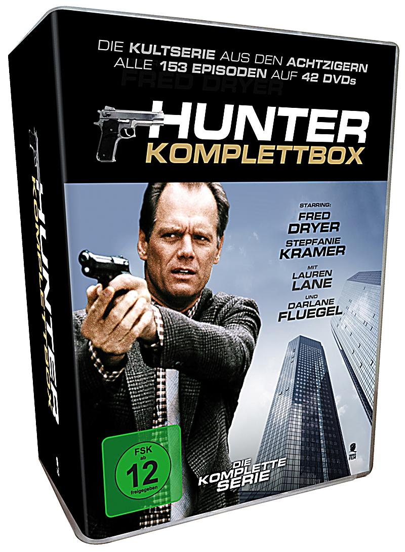 hunter komplettbox dvd jetzt bei online bestellen. Black Bedroom Furniture Sets. Home Design Ideas