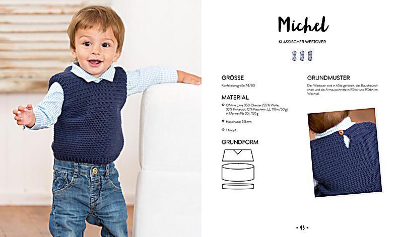 Hygge Babys & Kids - Wohlfühlkleidung häkeln Buch versandkostenfrei