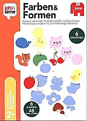 Ich lerne Formen und Farben Kinderspiel bestellen   Weltbild.de