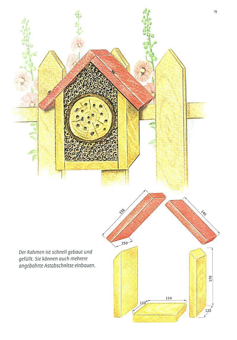 ideenbuch insektenhotels buch portofrei bei. Black Bedroom Furniture Sets. Home Design Ideas