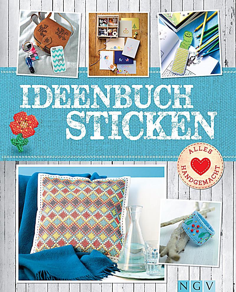 ideenbuch sticken mit stickmustern zum download software. Black Bedroom Furniture Sets. Home Design Ideas