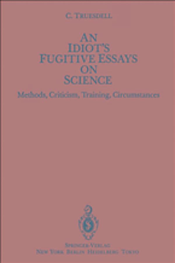 Essays on science