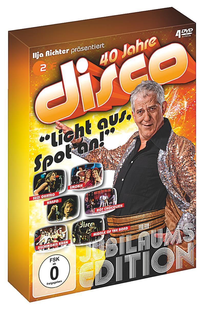 iljas disco licht aus spot an die dvd collection dvd von various. Black Bedroom Furniture Sets. Home Design Ideas
