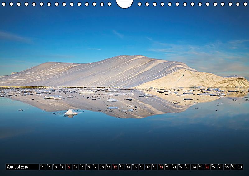 ilulissat eisfjord gr nland eis form und licht wandkalender 2018 din a4 quer kalender. Black Bedroom Furniture Sets. Home Design Ideas