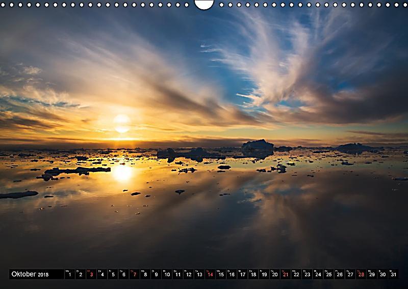 ilulissat eisfjord gr nland eis form und licht wandkalender 2018 din a3 quer kalender. Black Bedroom Furniture Sets. Home Design Ideas