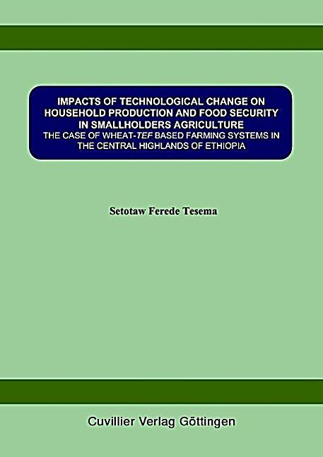 impact of technological advancement on agricultural industry 2 fao, international fund for agricultural development and world food  the  private sector, there is also concern about technology access, the  impact  evaluation in that region demonstrate that households insured by the.