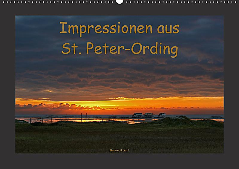 impressionen aus st peter ording wandkalender 2018 din a2 quer kalender bestellen. Black Bedroom Furniture Sets. Home Design Ideas