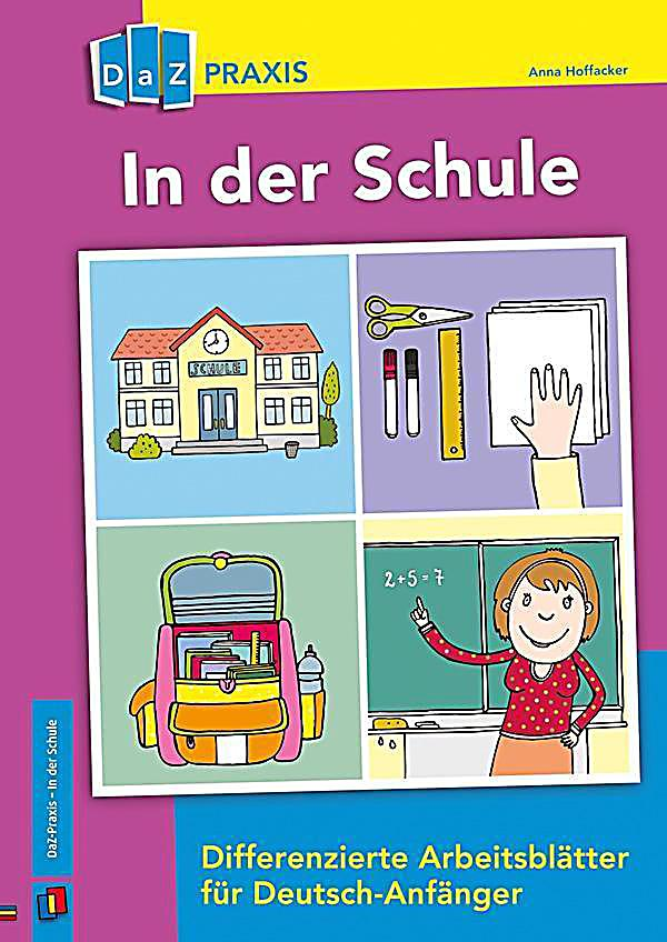 in der schule differenzierte arbeitsbl tter f r deutsch anf nger buch. Black Bedroom Furniture Sets. Home Design Ideas