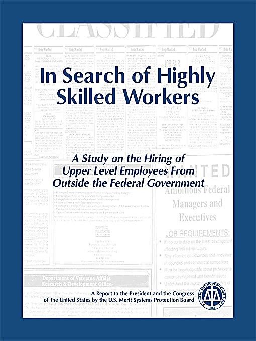threat to skilled u s workers To the aging health care workforce, the us department of labor's ofice  health care employers must maintain an adequate supply of skilled workers at all levels.