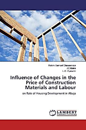 Influence of changes in the price of construction for Price of construction materials