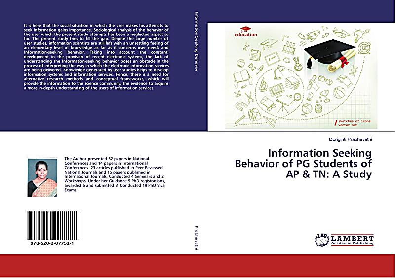 information seeking behaviour of management students Some information on behaviour and children is to ignore minor inappropriate or attention seeking for successful behaviour management.