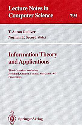 information theory and applications Teaching implications of information processing theory and  information-processing theory has definite educational implications for  applications of the .