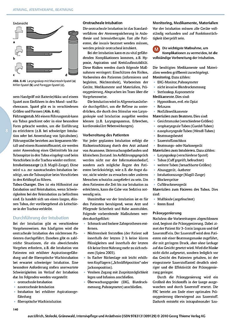 Intensivpflege und Anästhesie, m. DVD-ROM Buch versandkostenfrei