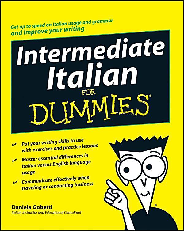 Intermediate italian for dummies ebook weltbild