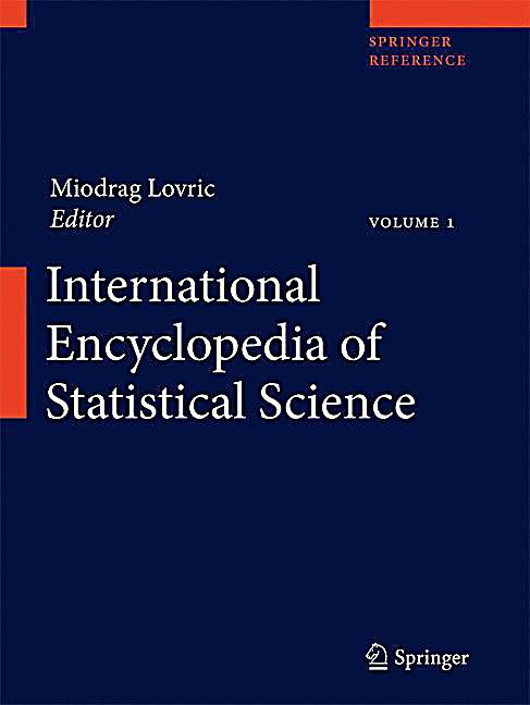 international encyclopedia of statistical science pdf