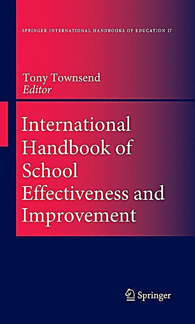 The international handbook of school effectiveness research paperback