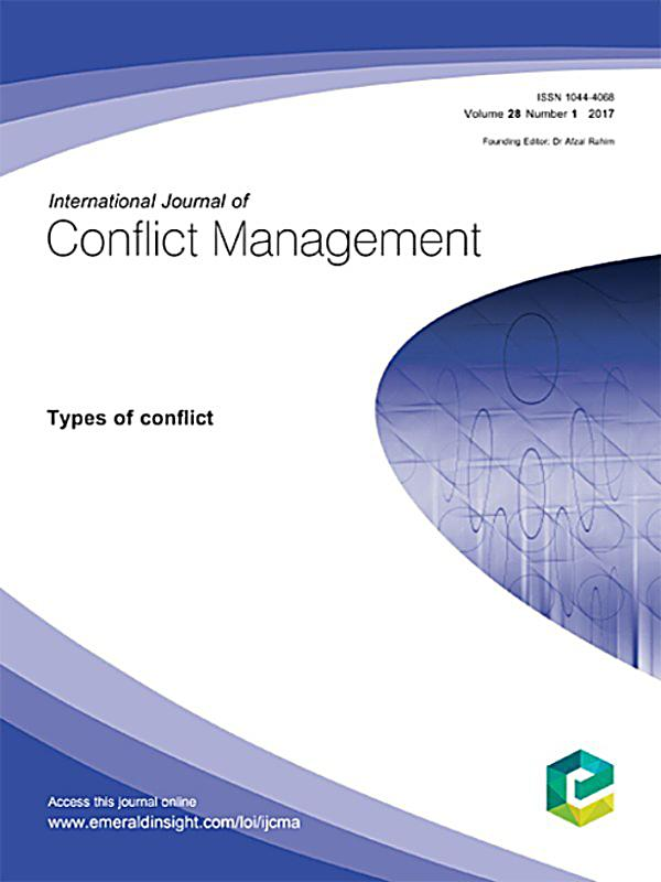 reflective journal conflict management As conflict management and team building during these experiences, reflective journaling is used to help students review occurrences throughout the day and to assign meaning to those occurrences, while completing a journal for the day duration the reflective journaling assignment continues throughout one semester,.