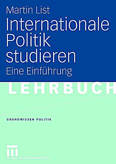 internationale politik studieren buch portofrei bei