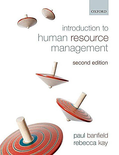 an introduction to human resource management hrm