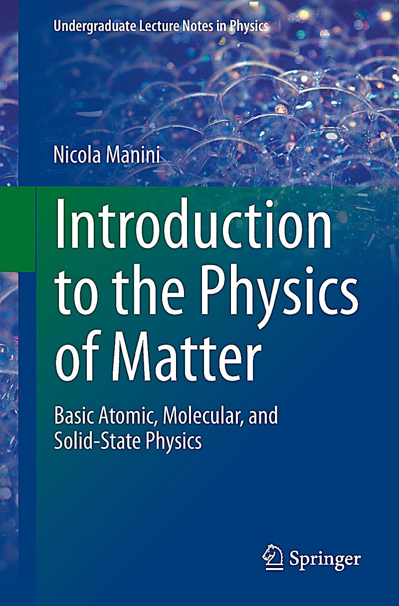 introduction to physics This introductory textbook on experimental physics covers the fields of  electrodynamics and optics it is a new edition of one of the classic textbooks by  robert w.
