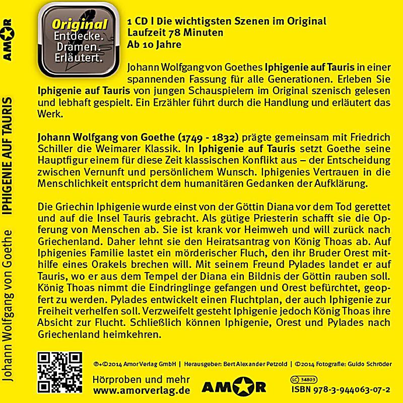 iphigenie auf tauris 1 audio cd h rbuch g nstig bestellen. Black Bedroom Furniture Sets. Home Design Ideas