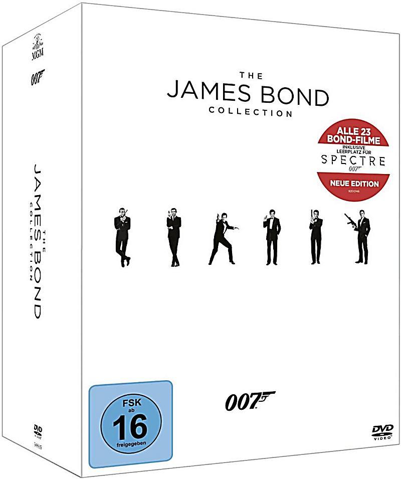 james bond 007 die jubil ums collection dvd. Black Bedroom Furniture Sets. Home Design Ideas