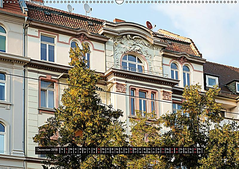 Jugendstil architektur in kassel wandkalender 2018 din a2 for Architektur jugendstil