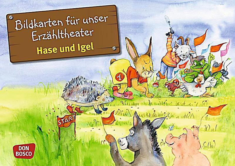 kamishibai bildkartenset - hase und igel buch - weltbild.de