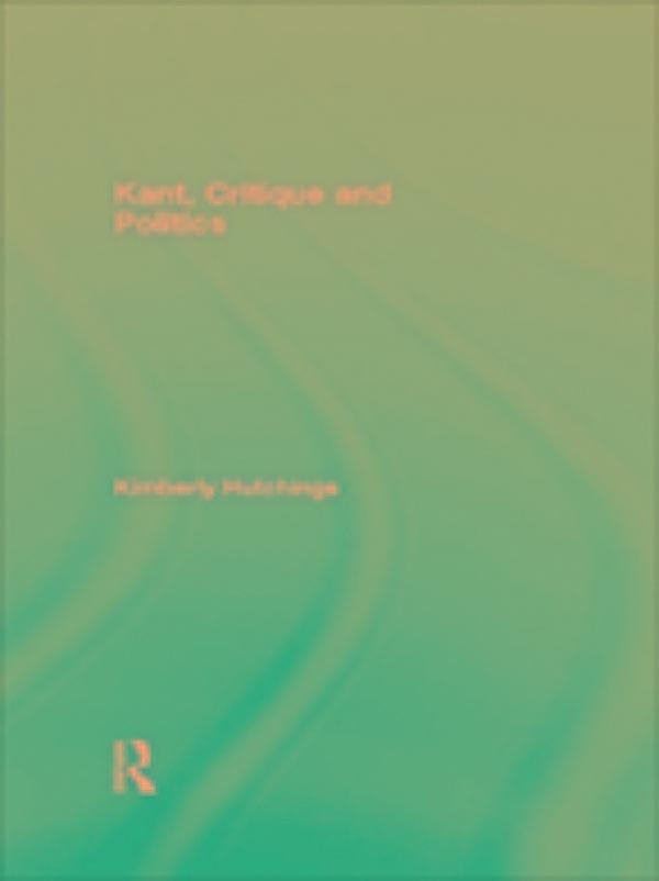 critique of the kantian philosophy pdf