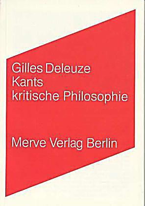 deleuze kritik Introduction while witnessing the upheaval and collapse that was may '68, deleuze comes to an important realization: any political philosophy ignorant of or contradictory to ontology (and in particular the ontological nature of the unconscious and desire) is destined to end in failure.