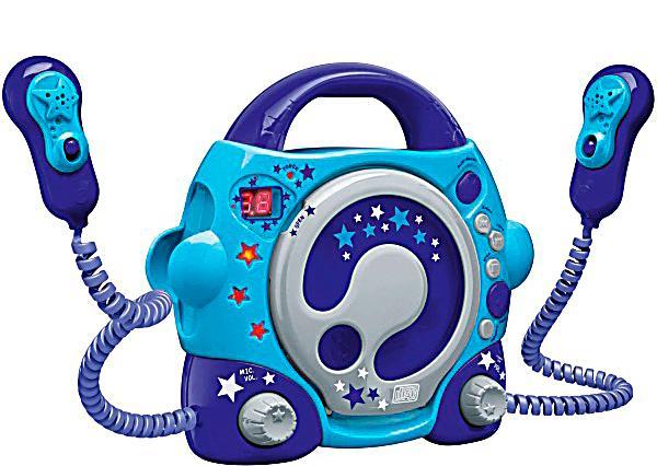 karaoke cd player boy blau jetzt bei bestellen. Black Bedroom Furniture Sets. Home Design Ideas