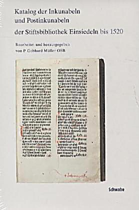 Katalog Der Inkunabeln Und Postinkunabeln Der